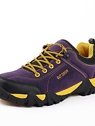Men's Hiking Shoes Suede Purple / Red / Gray
