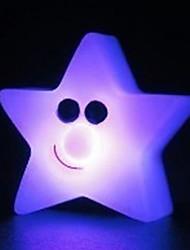 7.5*4CM Christmas The Stars Discus Small Night Light Creative Energy Saving Batteries Light LED Lamp