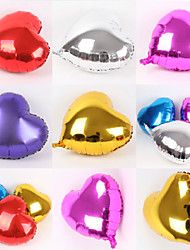 10 PCS Heart Shaped Balloons Wedding Birthday Party Decoration