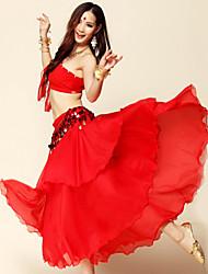 Accesorios(Negro / Fucsia / Rosa / Morado / Rojo / Azul Rey / Amarillo / Azul Laguna,Espándex / Poliéster,Danza del Vientre) -Danza del