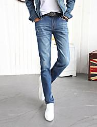mannen Koreaanse stijl gebonden voeten Harlan jeans