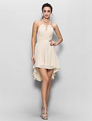 Lan ting невесты шифона платье невесты - оболочка / колонки недоуздок с драпировкой