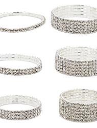 Bracelet Chaînes & Bracelets / Manchettes Bracelets / Bracelets de tennis Alliage Mariage / Soirée / Quotidien / Décontracté Bijoux Cadeau