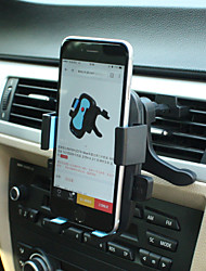 LEBOSH Car Air Outlet Phone Horder 360 Degree Rotating Mobile Phone Seat Support 4-6.3 Inch