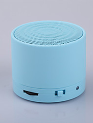 S10Metal Mini Portable Bluetooth Speaker W/Handfree Mic+TF Card Slot, Stereo Speakers for Laptop/PC/MP3/ MP4 Player