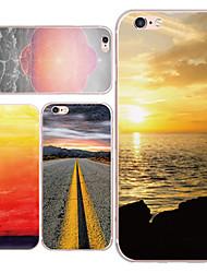 maycari®scenery sur le chemin de retour TPU pour iPhone 6 6s / iphone (couleurs assorties)