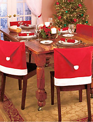 Christmas chair covers, color random