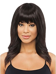 Natural Bang Clip In On Synthetic Hair Bangs Fringe Extensions Colorful