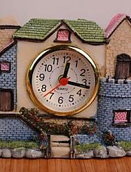 RT  Villa Castle Alarm Clock