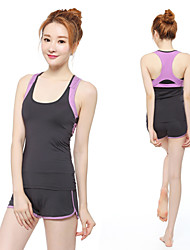 Yoga Clothing Sets/Suits Yoga Pants + Yoga Tops Breathable /Lightweight Materials Stretchy Sports Wear