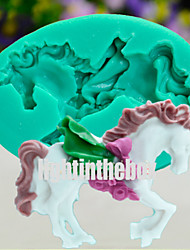 Unicorn Horse DIY Silicone Chocolate Pudding Sugar Ice Cake Mold