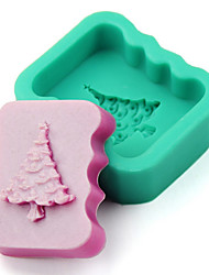 Christmas Tree Silicone Chocolate Pudding Sugar Ice Cake Mold