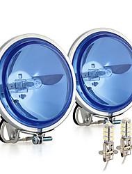 carchet 2 100w вождение работа местная подсветка + 2x H3 светодиодные лампы внедорожного автомобиля DC 12V грузовик