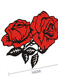 Funny Rose Car Sticker Car Window Wall Decal Car Styling