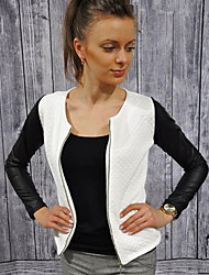 Damen Jacke  -  Leger ¾-Arm Baumwolle Medium