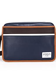 Men Other Leather Type Baguette Shoulder Bag - Blue