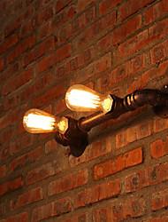 Мини Настенные светильники,Рустикальный E26/E27 Металл