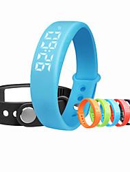 W5 Смарт-браслет / Датчик для отслеживания активностиИзрасходовано калорий / Педометры / будильник / Температурный дисплей / Отслеживание