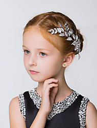 Flower Girl's Alloy Headpiece-Wedding / Special Occasion / Casual / Outdoor Hair Combs 1 Piece