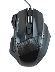 R.horse RH1900 Wired USB 2.0 800/1600/2400/3200dpi Laser Engine Game Mouse -
