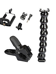 Gopro Accessories Monopod / Tripod / Screw / Flex Clamp / Mount/Holder All in One / Convenient / Adjustable, For-Action Camera,Gopro
