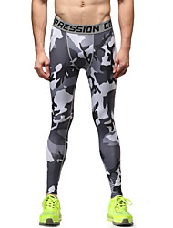 Running Tights / Pants / Bottoms Men's Breathable / Lightweight Materials Fitness / Running Vansydical Sports Wear Tight Performance