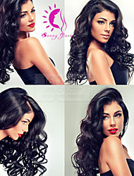 Body Wave 100% Mongolian Virgin Human Hair Wigs Top Quality Glueless Full Lace Wig For Black Women with Baby Hair