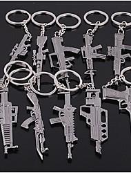 Pistolen Form Schlüsselbund zufällige Art 60 * 40 * 5mm