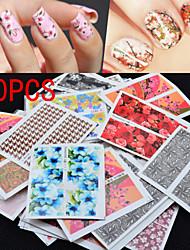 - Finger / Zehe - Vollständige Nail Tips - Andere - 50 Stück - 6.5x5.1.5 cm
