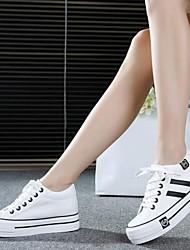 Scarpe Donna - Sneakers alla moda - Tempo libero / Casual - Plateau / Comoda - Plateau - Di corda - Nero / Blu / Rosso / Bianco