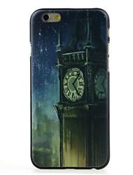 старые часы шаблон жесткий футляр для iPhone 6 / 6с