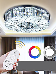 Flush Mount Crystal / LED Modern/Contemporary Living Room / Bedroom / Dining Room Metal