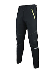 Arsuxeo Men's Bike Pants/Trousers/Overtrousers Jacket Padded Shorts/ChamoisBreathable Thermal / Warm Windproof Anatomic Design Wearable