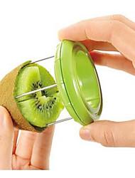 Novelty Kiwi Fruit Slicer Skinner Stripper Kiwi Fruit Divider Color Randomly
