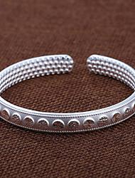 mode zandstralen round nagel kraal tegenhanger duizend mooie zilveren armband