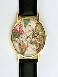 Vintage World Map Watch, Antique Map, Women's Watch, Unisex, Cartography, Old Map, Vintage Inspired, Men's Watch Cool Watches Unique Watches