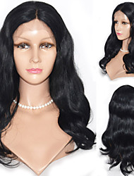 16inch Lace Front Hair Wig Indian Virgin Hair Body Wave Hair Wigs Celebrity Style Women Wigs