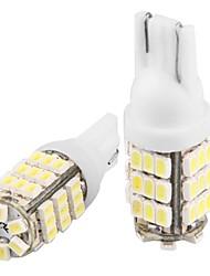 2 * T10 W5W 168 194 weiß 42 SMD LED Standlicht Lampen-Lampe