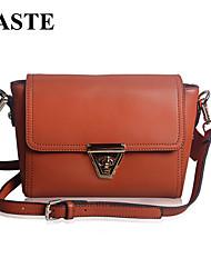 Paste® Popular Vintage Style Real Leather Women Shoulder Bag