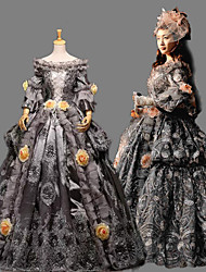 Steampunk®Top Sale Long Sleeves Princess Dress Victorian Wedding Dress Royal Vintage Party Long Prom Dresses