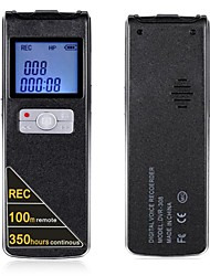 100 Metres Wireless Remote Control And Long Time Continuous Recording Digital Voice Recorder 8GB