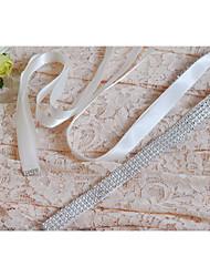 Satin Hochzeit / Party / Abend / Alltagskleidung Schärpe-Pailletten Damen 250cm Pailletten