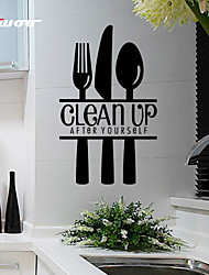 New Pattern Clean Up Removable Waterproof Wall Sticker Home Decor Vinyl Wall Decal