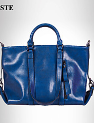 Paste® Most Popular Classic Style Real Leather Tote Bag