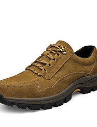 Men's Hiking Shoes Leather Brown / Khaki