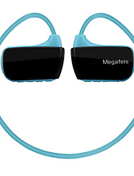Megafeis E350 Waterproof Sports Wireless Headphones Protable Mp3 Player 16GB