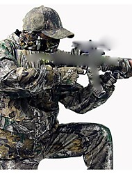 Camouflage Winter Coat Suit , Waterproof Coat Parka ,Camo Hunting Jacket(Jacket + Trousers + peaked cap)