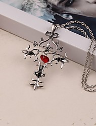 Movie Acc The Vampire Diaries Cross Pendant Necklace