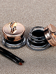 Black The Charm of Pupil Sketch Eyeliner Easy to Color Does Not Fade Waterproof Not Dizzydo Sexy Makeup