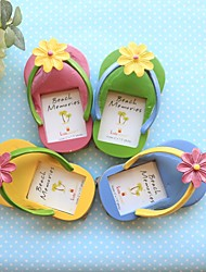 (Set Of 4)Beach Party theme Flip Flop Place Cards